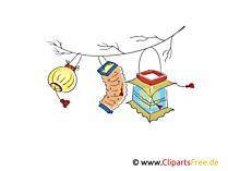 Schöne Laternen Illustration, Clipart, Bild gratis