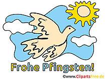 Clipart Pfingsten