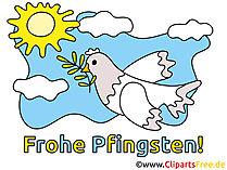 Frohe Gruesse zu Pfingsten