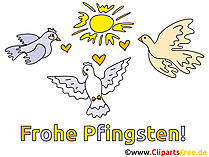 Happy Pinksteren Clipart
