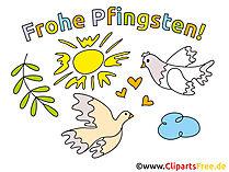 Pfingsten Karte