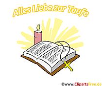 ... Kerze Cliparts, Illustrationen, Bilder zum Thema Taufe Zugriffe: 49