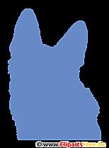Deutscher Schäferhund Clipart transparenr PNG