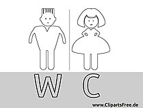 Bilder fuers WC