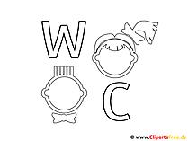 Schilder WC