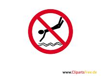 Verbotszeichen Bilder, Cliparts, Illustrationen gratis