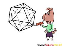 3D-Zeichnung Clipart, Bild, Illustration