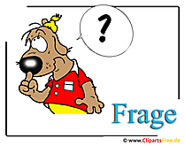 Frage Clipart free Schule