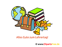 Internationale Teachers Day Clipart, foto, kaart, gefeliciteerd