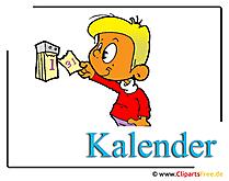 カレンダー画像クリップアートを無料でダウンロード