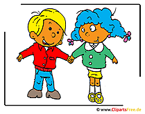 Children cartoon clip art free