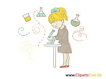 学校での無料学校絵実験