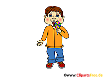Pupil, Boy, Child - School Clipart, Afbeeldingen, Illustraties