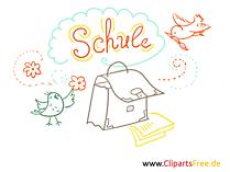 Schule Clipart-Bilder für Unterricht