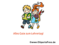Teachers Day Clip Art, Pic, Card