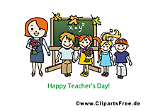 Teachers Day Clip Card, Art, Pic