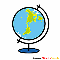 World globe image - cliparts school
