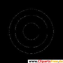 Copyright Symbol Clip Art free