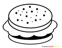 Hamburger Clipart Food