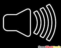 Lautsprecher Symbol Transparent