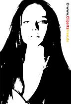 モデル画像、クリップアート、イラスト