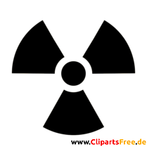 Radiation Symbol Clip Art free high resolution