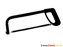 Säge Clipart Werkzeuge
