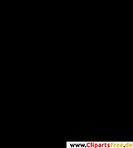 WiFiシンボルクリップアート、画像、グラフィックの白黒