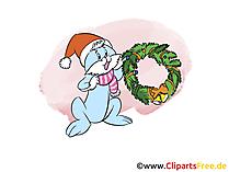 Cartoon zum Neujahr, Silvester gratis