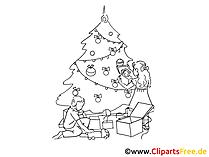 Clipart schwarz weiss kostenlos zum Neujahr