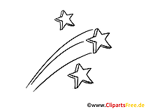 Feuerwerk Sylvester Clipart, Bild, Grafik, Karte