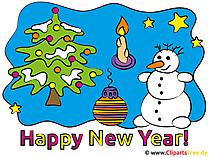 Gutes Neues Jahr Bilder