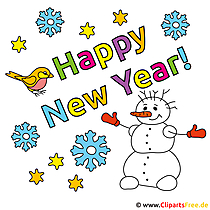 Happy New Year Bilder kostenlos