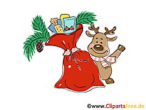 Neujahr Bild, Cartoon, Clipart, Grafik