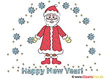 Neujahr Clipart