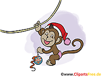 Neujahr Clipart, Bild, Cartoon gratis