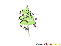 Neujahrs Cliparts Tannenbaum