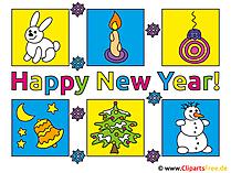 Neujahrswuensche Bilder kostenlos