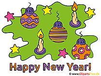 Neujahrswuensche mit Bild