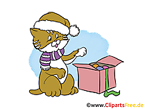 New Year Clip Art, Image, Cartoon gratis