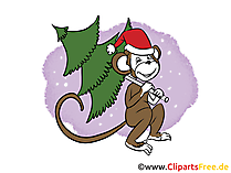 Silvester eCard, Clip Art, Image free