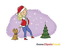 Silvester Weihnachten Bild, Clip Art, Image, Cartoon gratis