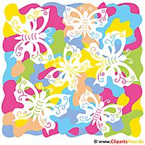 Butterfly Clp Art - Sommer Bilder gratis