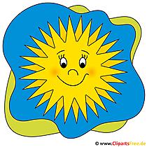 Cartoon zomer clipart