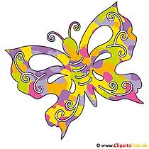 Schmetterling Clip Art - Sommer Bilder gratis