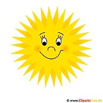 태양 클립 아트 무료-여름 사진