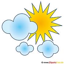 Wolken Clip Art gratis