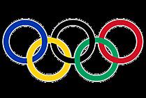 Clipart Cincin Olimpiade Warna-warni 2021