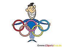 Clipart Komik Olimpiade 2021