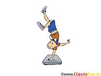 Slăbiți imaginea motivațională în stil desen animat